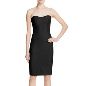 NEW Likely Black Strapless Dress